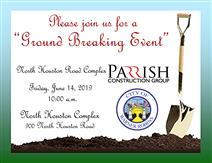 North Houston Road Complex ground breaking